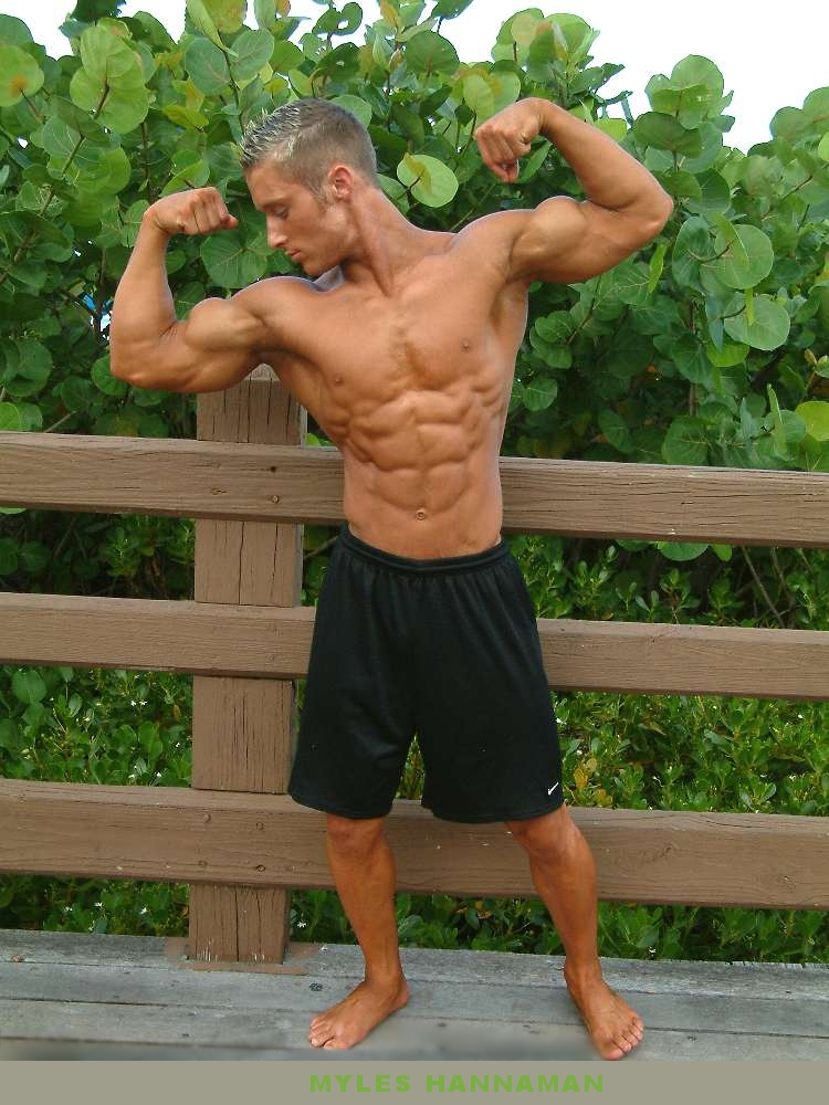 the beauty of male muscle: Myles